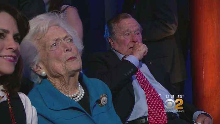 News video: Former First Lady Barbara Bush Reportedly In 'Failing Health'