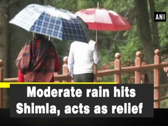 News video: Moderate rain hits Shimla, acts as relief