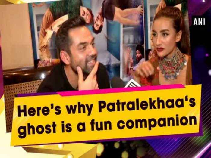 News video: Here's why Patralekhaa's ghost is a fun companion