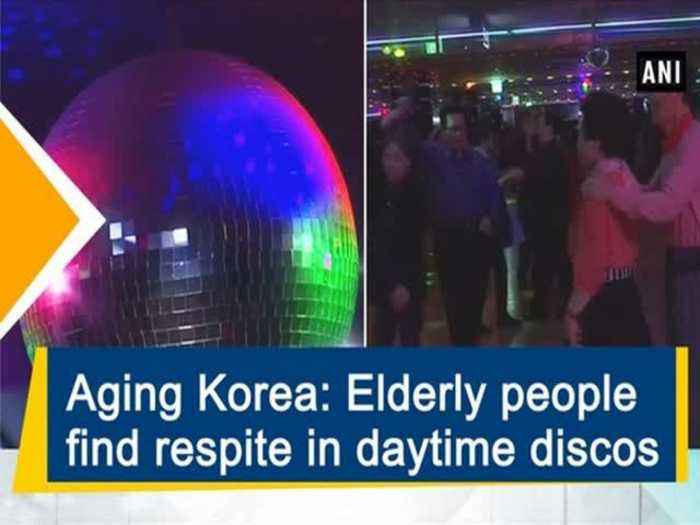 News video: Aging Korea: Elderly people find respite in daytime discos