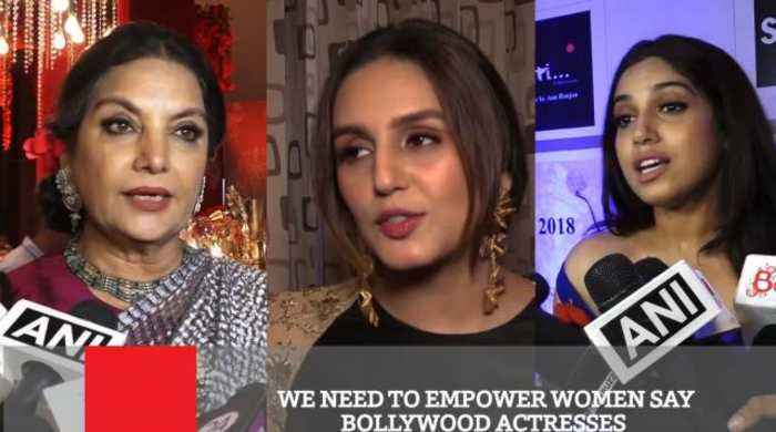 News video: We Need To Empower Women Say Bollywood Actresses