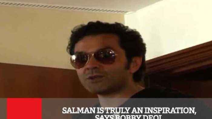 News video: Salman Is Truly An Inspiration, Says Bobby Deol