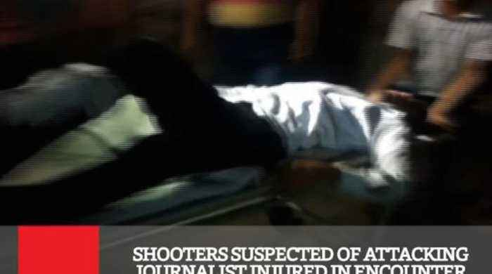 News video: Shooters Suspected Of Attacking Journalist Injured In Encounter