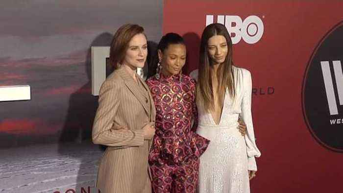 News video: 'Westworld' cast tease new series at premiere