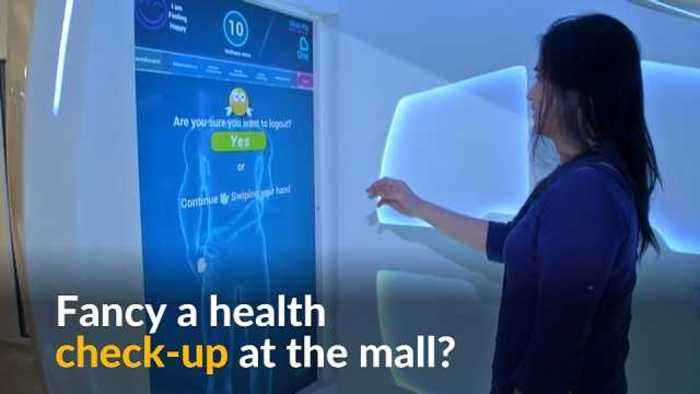 News video: Dubai pod brings health checkups to malls and supermarkets