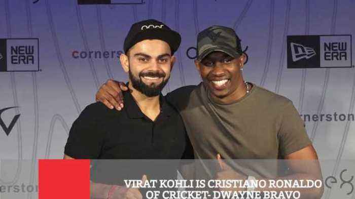 News video: Virat Kohli Is Cristiano Ronaldo Of Cricket- Dwayne Bravo