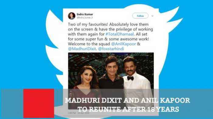News video: Madhuri Dixit And Anil Kapoor To Reunite After 18 Years