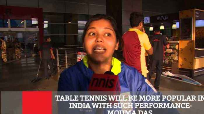 News video: Table Tennis Will Now Become More Popular- Mouma Das