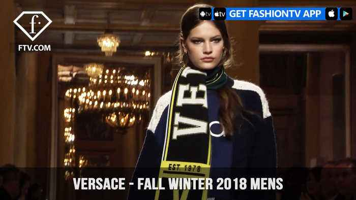 News video: Versace Men's Fall/Winter 2018 Explore Your Wild Side Man| FashionTV | FTV