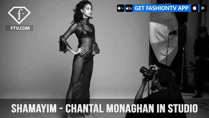 Shamayim TV Presents Model Chantal Monaghan Behind-The-Scenes in Studio | FashionTV | FTV
