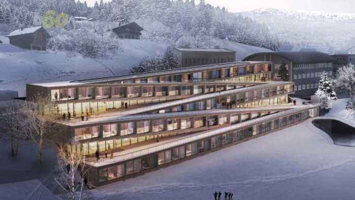 This Luxury Hotel Will Let You Ski Right Into Its Spa and Bar