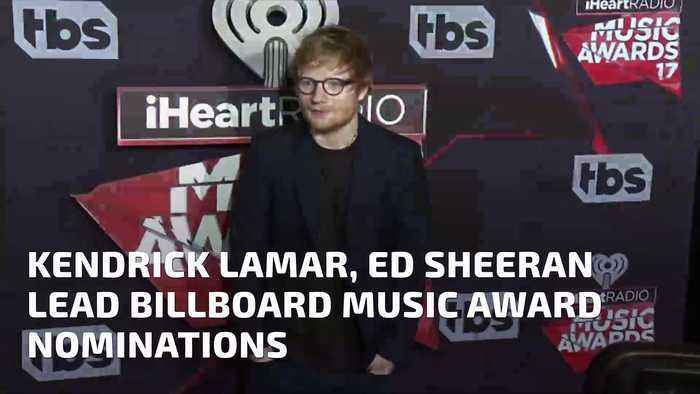 News video: Kendrick Lamar, Ed Sheeran Lead Billboard Music Award Nominations