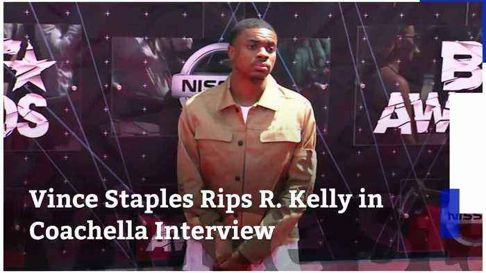 Vince Staples Rips R. Kelly in Coachella Interview