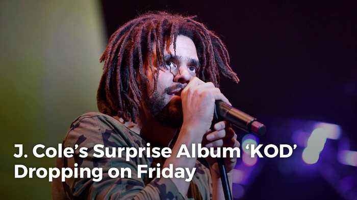 J. Cole's Surprise Album 'KOD' Dropping on Friday