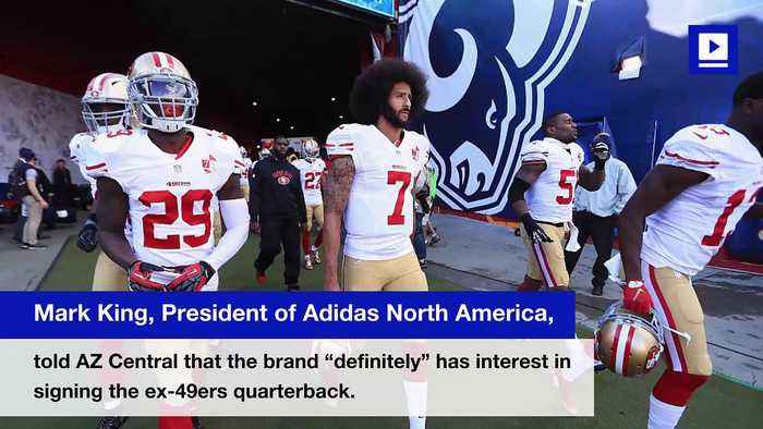 Adidas Shows Interest in Signing Colin Kaepernick if He Lands NFL Gig
