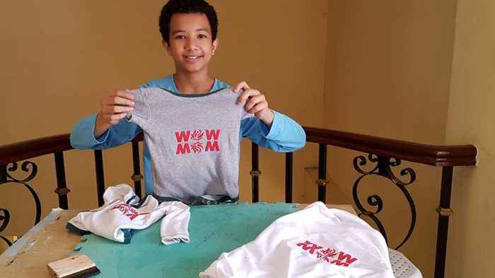 News video: Easy DIY Tshirt Printing Even Teens Can Do