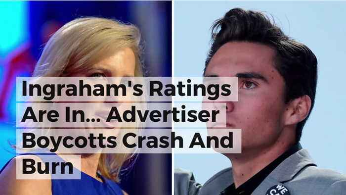 News video: Ingraham's Ratings Are In... Advertiser Boycotts Crash And Burn