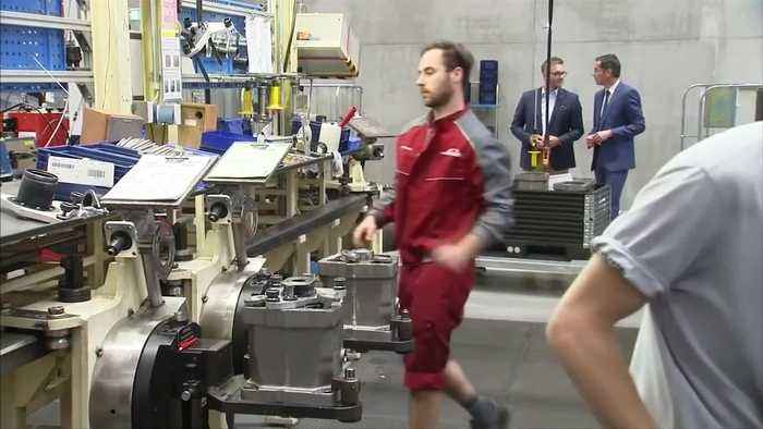 News video: German investor morale tumbles as trade worries grow