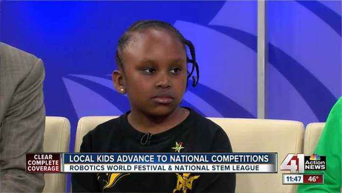 News video: Local students compete in national robotics competitions