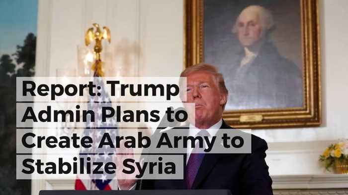 Report: Trump Admin Plans to Create Arab Army to Stabilize Syria