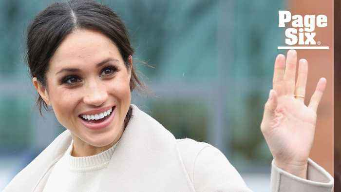 News video: Meghan Markle does face yoga to keep things tight