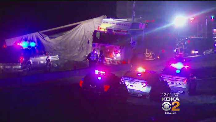 News video: 1 Dead, 3 Injured As Series Of Crashes Shuts Down Inbound Parkway North
