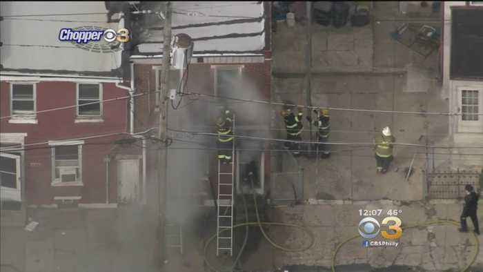 News video: Crews Rescue 1 Person, 3 Dogs, 1 Cat Rescued From Kensington Fire