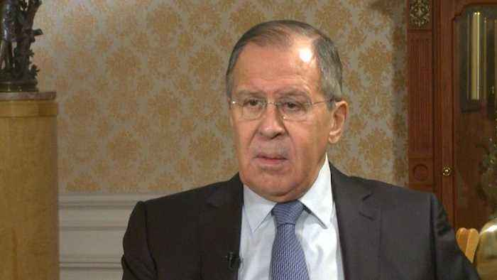 Russian foreign minister denies Russia tampered with site of Douma chemical attack