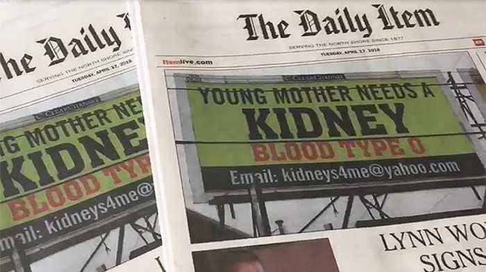 News video: Reporter Update: Mom Who Needs Kidney Transplant Puts Plea On Billboard