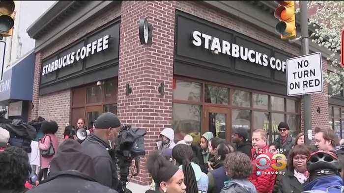News video: Center City Starbucks Reopens After Controversial Arrests