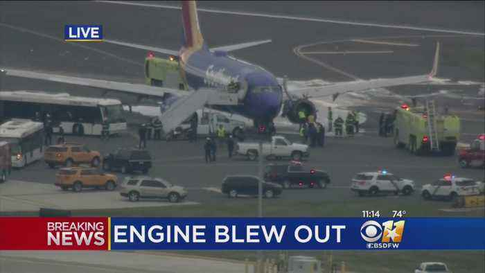 News video: Dallas-Bound Southwest Flight Emergency Landing –- Possible Engine Failure