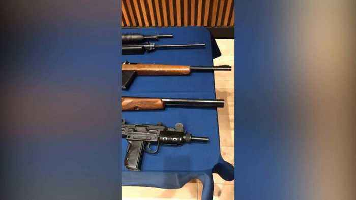 News video: New York City gun bust nets nearly 70 guns