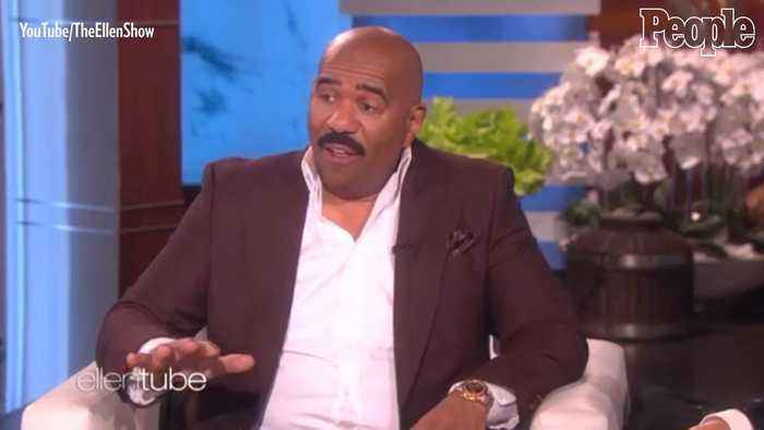 Steve Harvey Dishes on KarJenner Family Feud Episode: 'Kanye Smiled' & 'Kim Didn't Know Nothing'