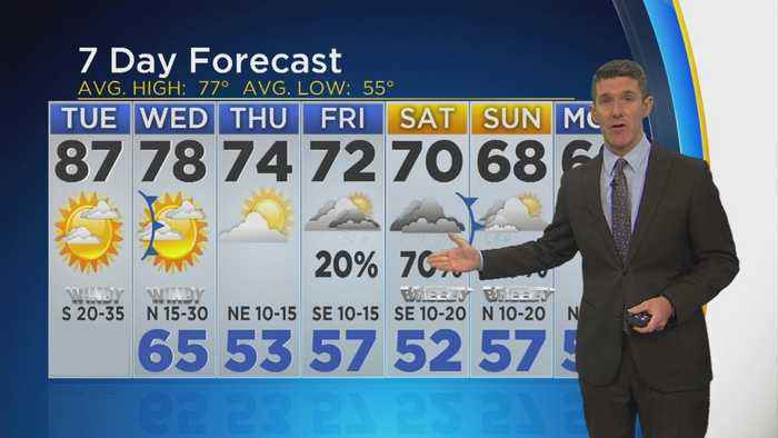 News video: Jeff Jamison's 11AM Weather Update