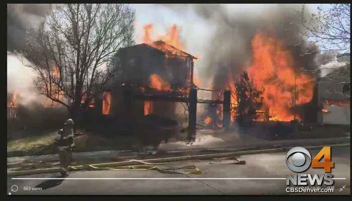 News video: 3 Homes On Fire In Castle Rock