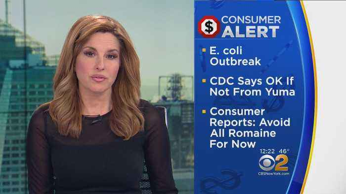 News video: E. Coli Outbreak Linked To Romaine Lettuce