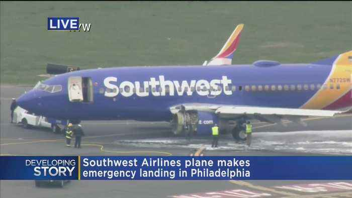 Southwest Plane Makes Emergency Landing In Philly