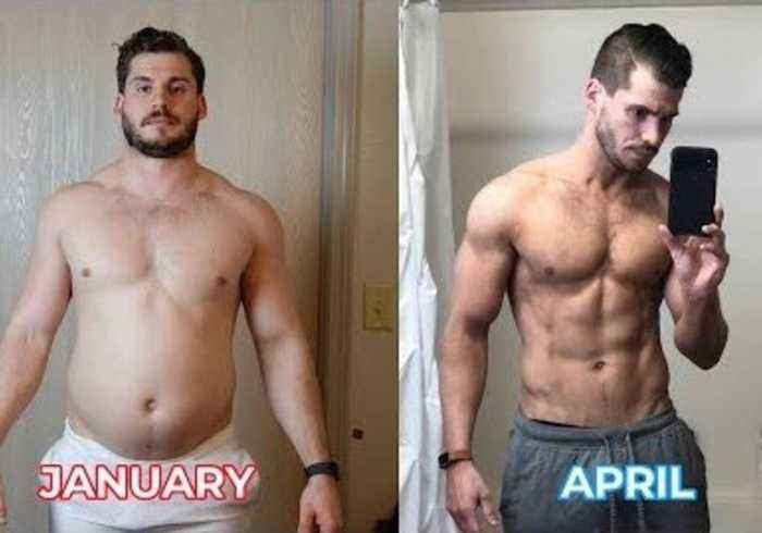 From 202lbs to 160lbs: Man Documents Incredible Weight Loss Transformation