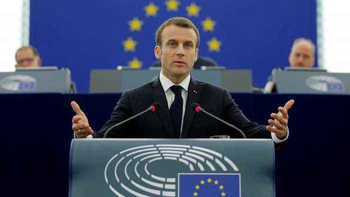 News video: Macron to Europeans: Nationalism is not the answer