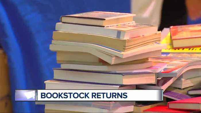 News video: Bookstock is metro Detroit's biggest and best used book and media sale