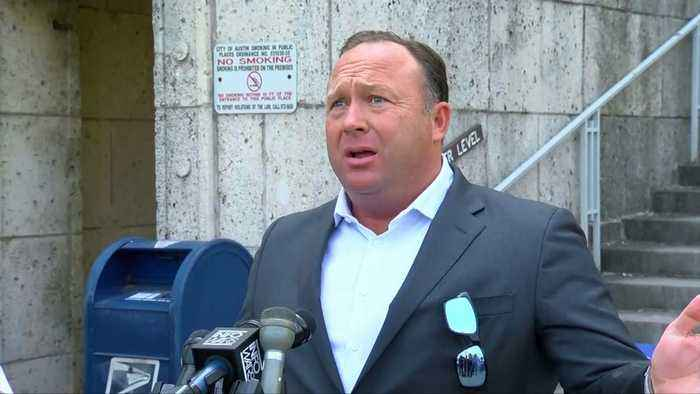 News video: Sandy Hook Families File Lawsuits Against Alex Jones