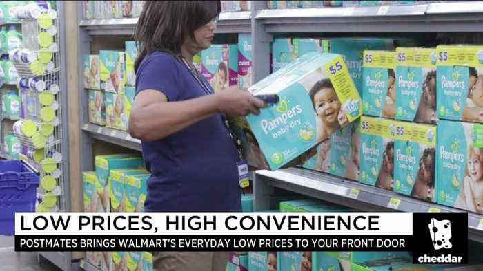 News video: How Postmates Will Help Walmart Stay Competitive