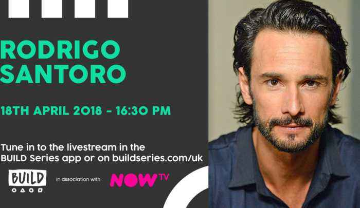 Live From London: Rodrigo Santoro
