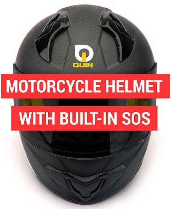 News video: Quin is a smart motorcycle helmet