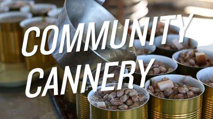 News video: Take a Look Inside a Community Cannery
