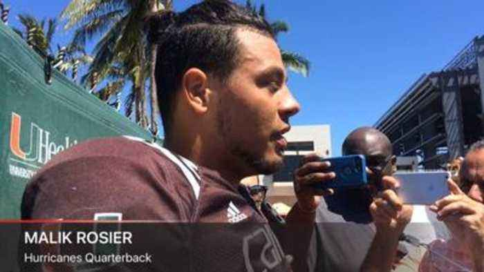 Hurricanes quarterback Malik Rosier recaps four weeks of spring practice