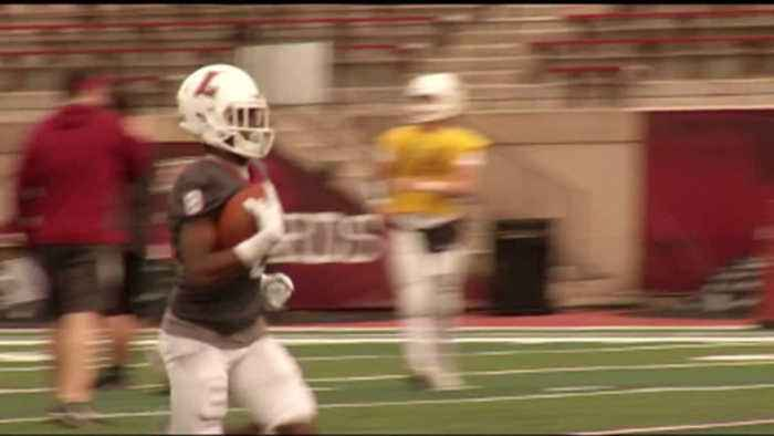 News video: Lafayette 2018 Spring Football Look
