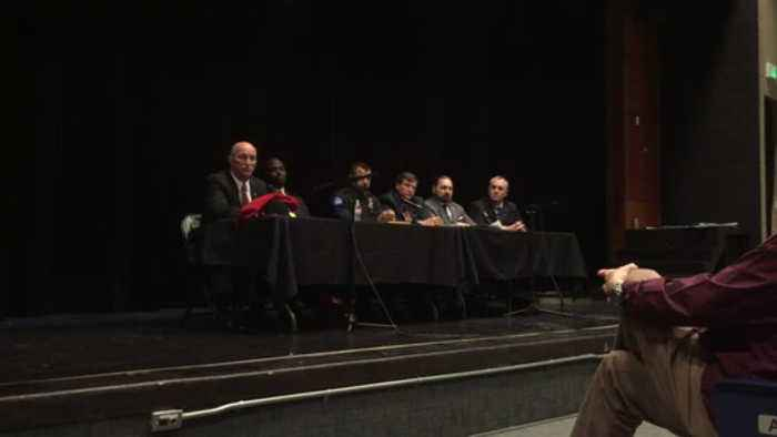 News video: School safety forum