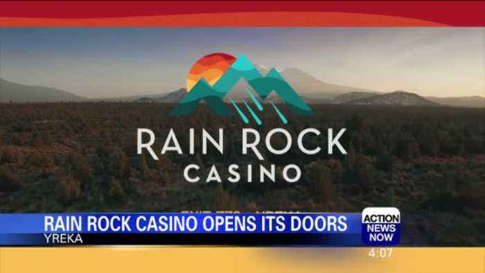 News video: Yreka Rain Rock Casino Now Open to the Public