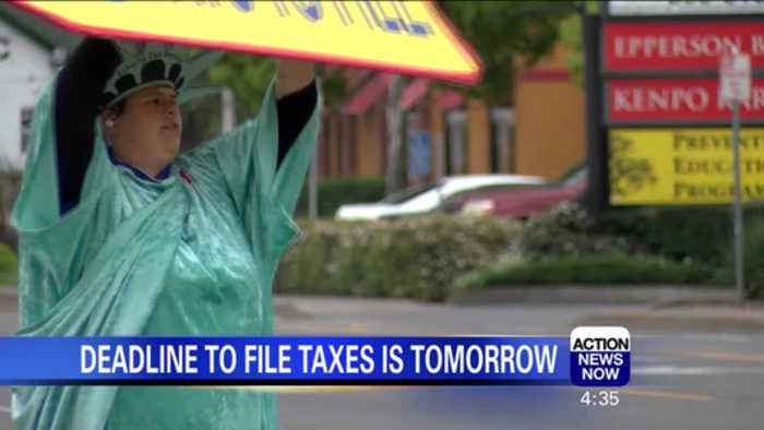 News video: Tax Deadline Rush in the North State
